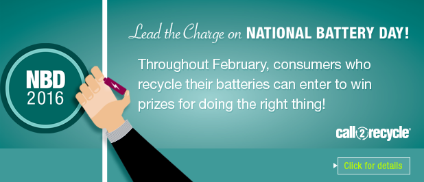 Lead the Recycling Charge on National Battery Day
